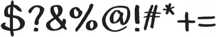 The Grimm otf (400) Font OTHER CHARS
