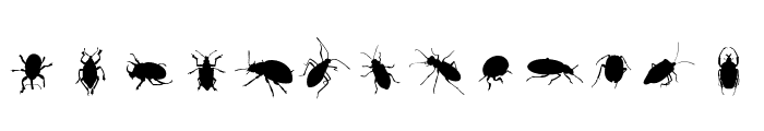 The Beetles Font LOWERCASE
