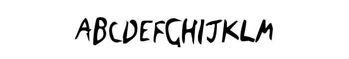 The Blick Font Font LOWERCASE
