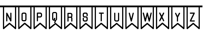 The Flaggy St Font LOWERCASE