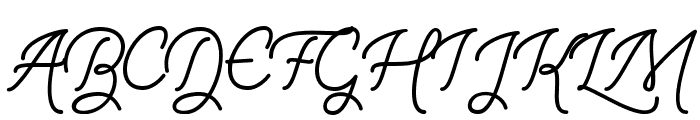 The Illusion of Beauty Font UPPERCASE