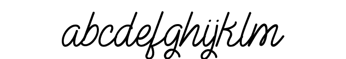 The Illusion of Beauty Font LOWERCASE