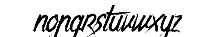 The Night Creatures 2 Font LOWERCASE