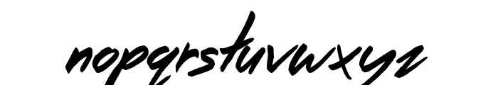 The Right Thing Font LOWERCASE
