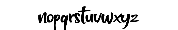 Think Smart Font LOWERCASE