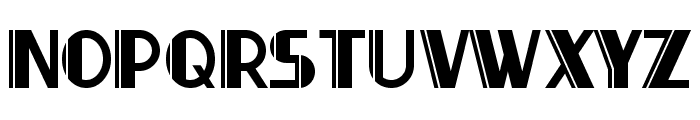 Thirty-Seven Font UPPERCASE