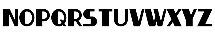 Thirty-Seven Font LOWERCASE