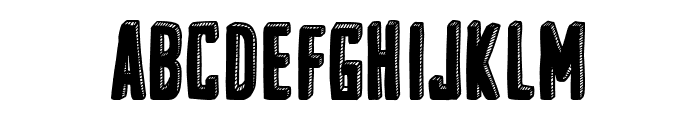 the Gallery Font UPPERCASE