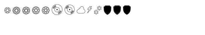 The Carpenter Pictograms Font UPPERCASE