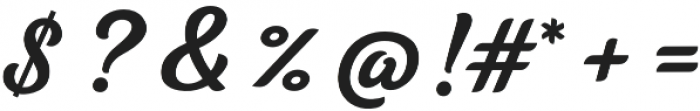 Tilda Script S Non-connect otf (400) Font OTHER CHARS