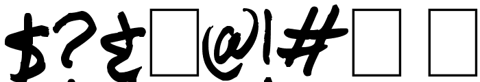 TickyRic Font OTHER CHARS