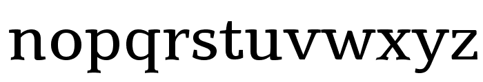Tienne Font LOWERCASE