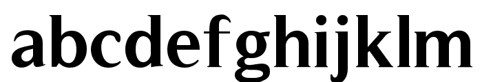 Timeless-Bold Font LOWERCASE