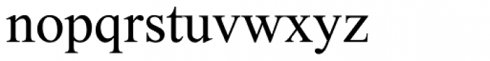 Tipot Font LOWERCASE