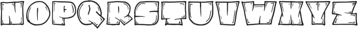 Tottem Party otf (400) Font LOWERCASE