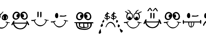 Today I Feel Font UPPERCASE