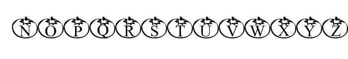 Tomate Font UPPERCASE