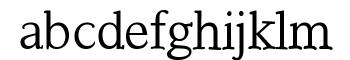 Touch Font LOWERCASE