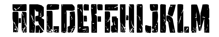 Tower Ruins Condensed Font UPPERCASE