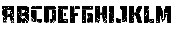 Tower Ruins Drop-Case Font LOWERCASE