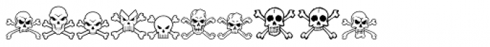 Tox Icons Font OTHER CHARS