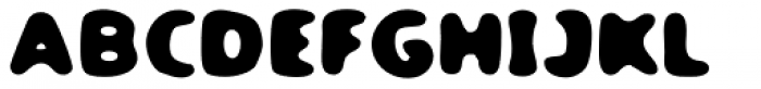 TPG DontBlurry Bold Wide Font UPPERCASE