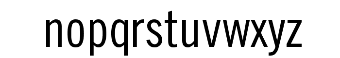 TraditionellSans-Normal Font LOWERCASE