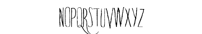 TrapOne-Regular Font UPPERCASE