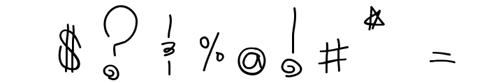 Tribal Font OTHER CHARS