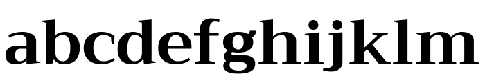 Trirong Bold Font LOWERCASE