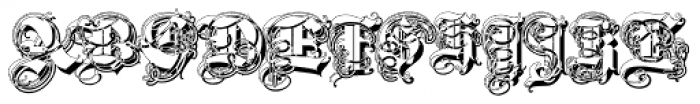 Triball Decorative Shadow Font UPPERCASE
