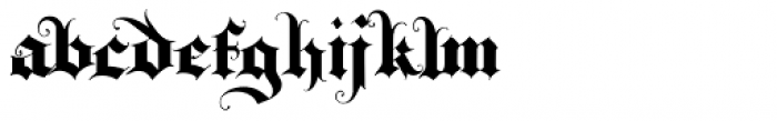 Triball Font LOWERCASE