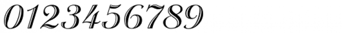 Troubadour Pro Engraved Font OTHER CHARS