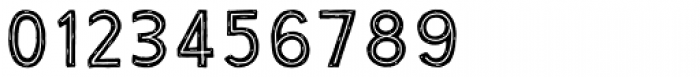 True North Rough Inline Font OTHER CHARS