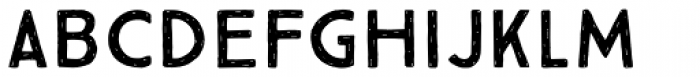 True North Rough Font LOWERCASE