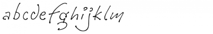 Tully Light Font LOWERCASE