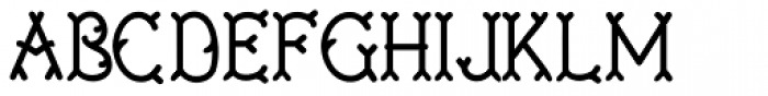 Twigglee Bold Font LOWERCASE
