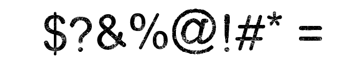 Typewriter Style Font OTHER CHARS