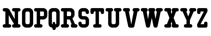 Typo College Rounded Demo Font LOWERCASE