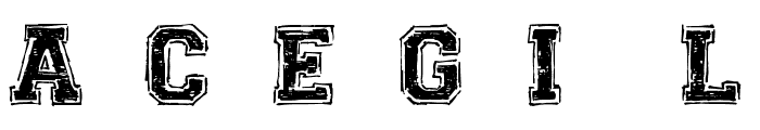 UNIVERSAL-COLLEGE Font UPPERCASE