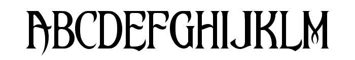 Upon A Dream [Maleficent] Font LOWERCASE