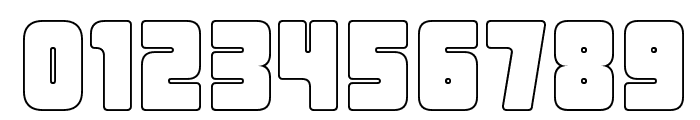 Urban Constructed Outline Font OTHER CHARS