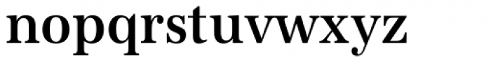 URW Antiqua ExtraNarrow Medium Font LOWERCASE