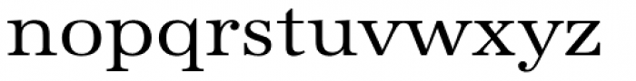 URW Antiqua Wide Font LOWERCASE