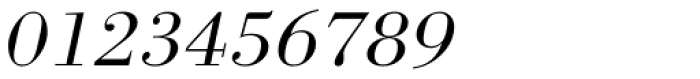 URW Bodoni ExtraWide Light Oblique Font OTHER CHARS