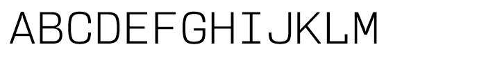 User Light Font UPPERCASE