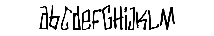 Varbee Font UPPERCASE