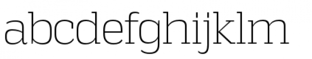 Vectipede Extra Light Font LOWERCASE