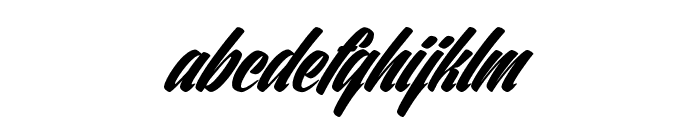 Ventography Personal Use Only Font LOWERCASE