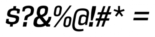 Vectipede Italic Font OTHER CHARS